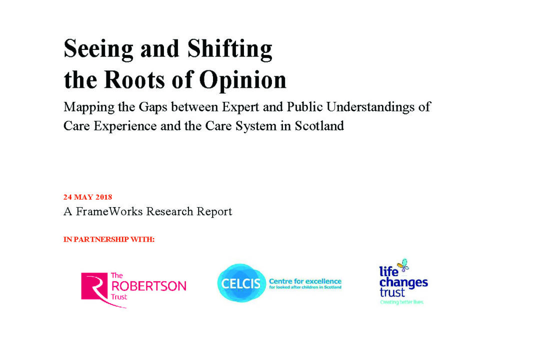 Seeing and Shifting the Roots of Opinion