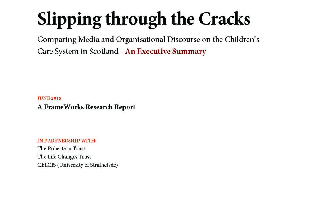Slipping through the Cracks – Executive Summary